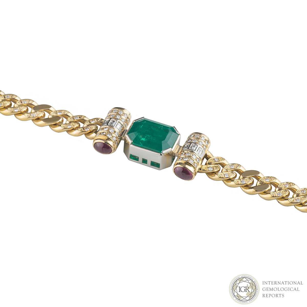 and emerald j diamond zaidman necklace